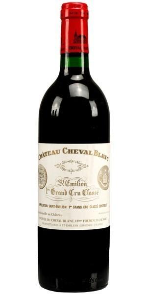 CHÂTeau Cheval Blanc - 1er Grand Cru Classé, 1986