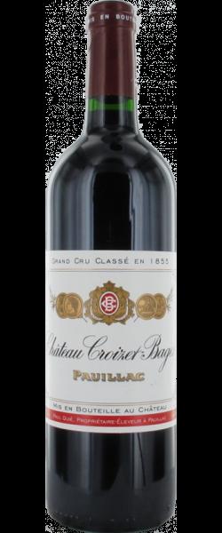 Chateau Croizet Bages - 5. Grand Cru Classe, 1996