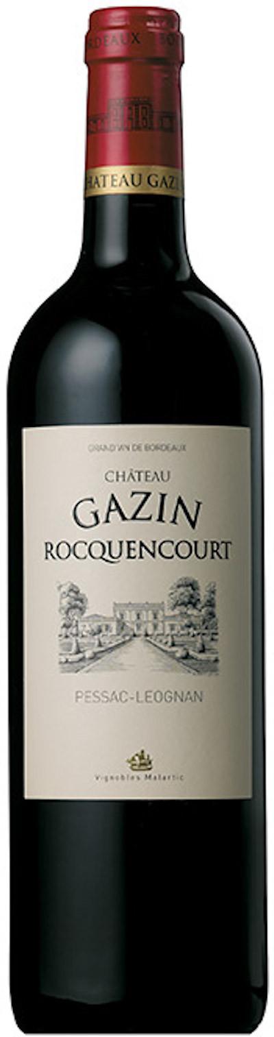 Château Gazin Rocquencourt - Pessac-Léognan rouge