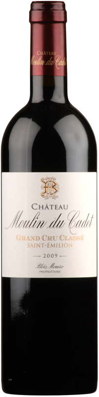 Chateau Moulin du Cadet - Grand Cru Classe, 1989