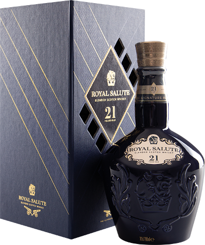 Chivas Regal - 21 years Royal Salute Blended Scotch Whisky
