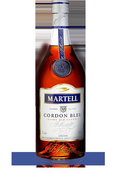 Martell - Cordon Bleu Cognac im Geschenkkarton
