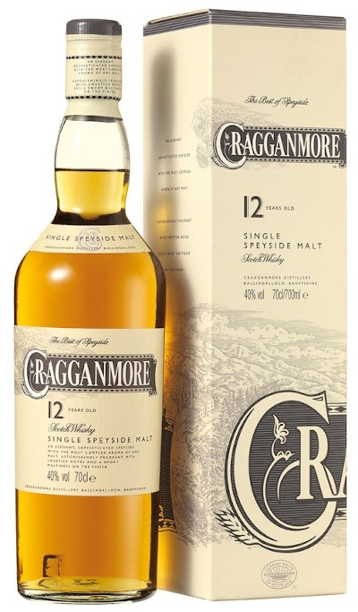 Cragganmore - 12 years Speyside Single Malt Scotch Whisky