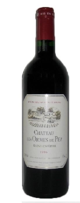 Chateau Les Ormes de Pez - Cru Grand Bourgeois Ex, 1996