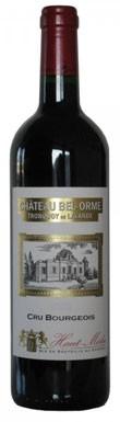Chateau Bel Orme - Cru Grand Bourgois Demi, 2008