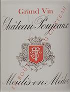 Chateau Poujeaux - Cru Grand Bourgeois Ex, 2001