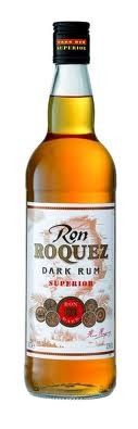 Ron Roquez Dark Rum Superior 37 - 5°