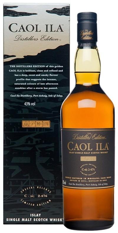 Caol Ila - Distillers Edition Islay Single Malt Scotch Whisky, 2003