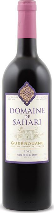 Domaine De Sahari - Guerrouane, 2018
