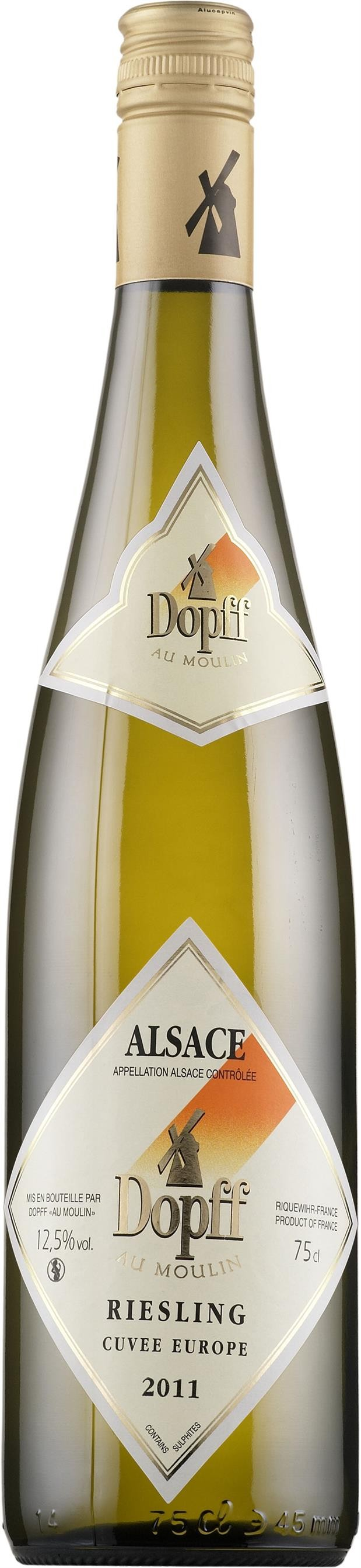 Dopff - Riesling Cuvee Europe Reserve, 2012
