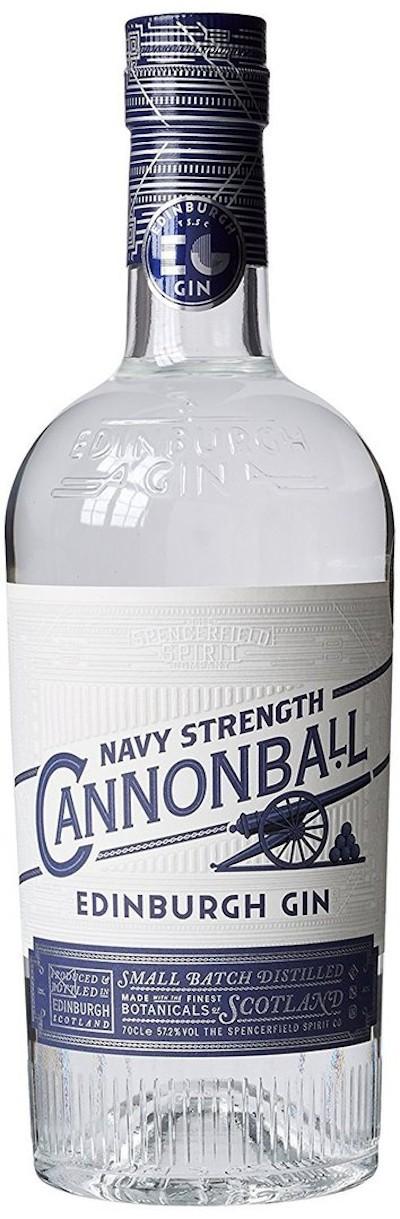 Edinburgh - Cannonball Navy Strength Gin
