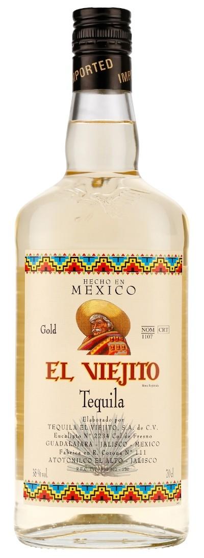 El Viejito - Gold Tequila
