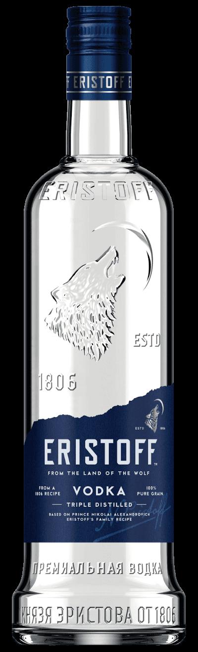 Eristoff - Vodka Großflasche