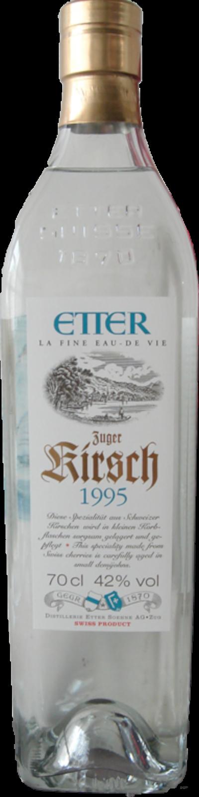 Etter - Alter Etter Zuger Kirsch, 1996