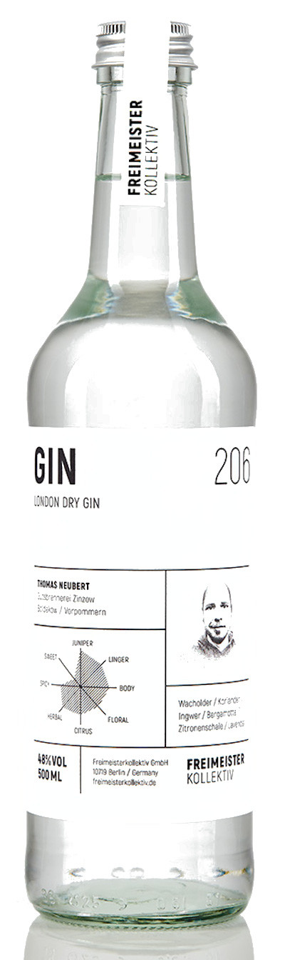 Freimeisterkollektiv - London Dry Gin