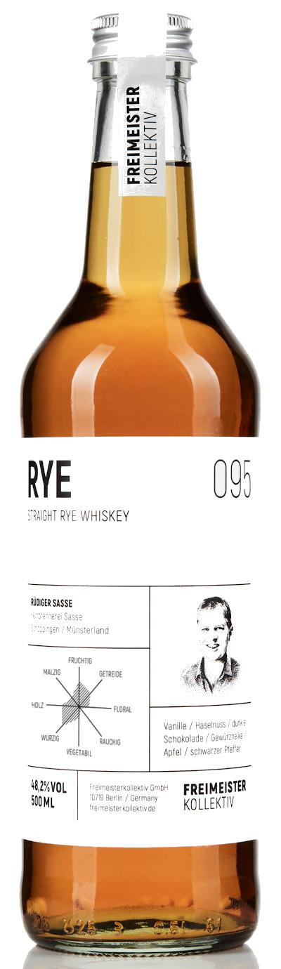 Freimeisterkollektiv - Straight Rye Whiskey