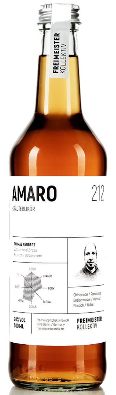 Freimeisterkollektiv - Amaro Kräuterbitter