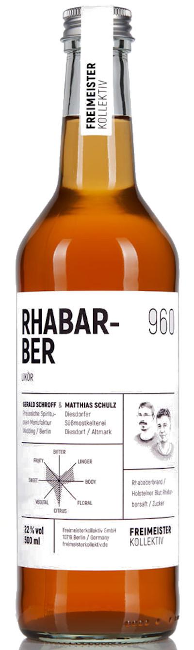 Freimeisterkollektiv - Rhabarberlikör