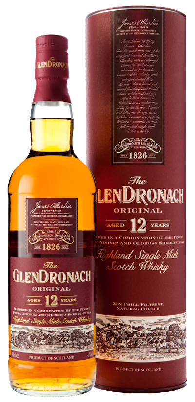 Glendronach - 12 years Original Highland Single Malt Scotch Whisky