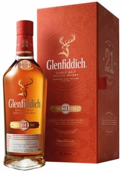 Glenfiddich - 21 years Grand Reserve Speyside Single Malt Scotch Whisky