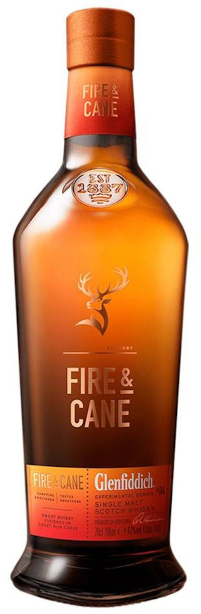 Glenfiddich - Fire & Cane Speyside Single Malt Scotch Whisky