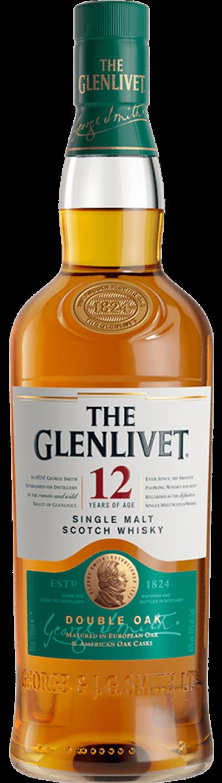 Glenlivet - 12 yeras Double Oak Speyside Single Malt Scotch Whisky