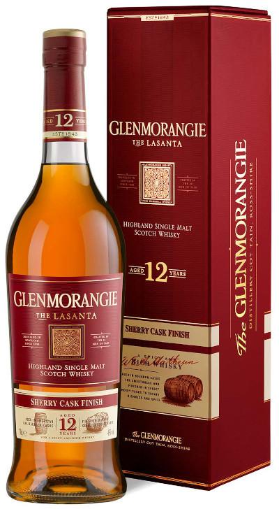 Glenmorangie - 12 years Lasanta Highland Single Malt Scotch Whisky