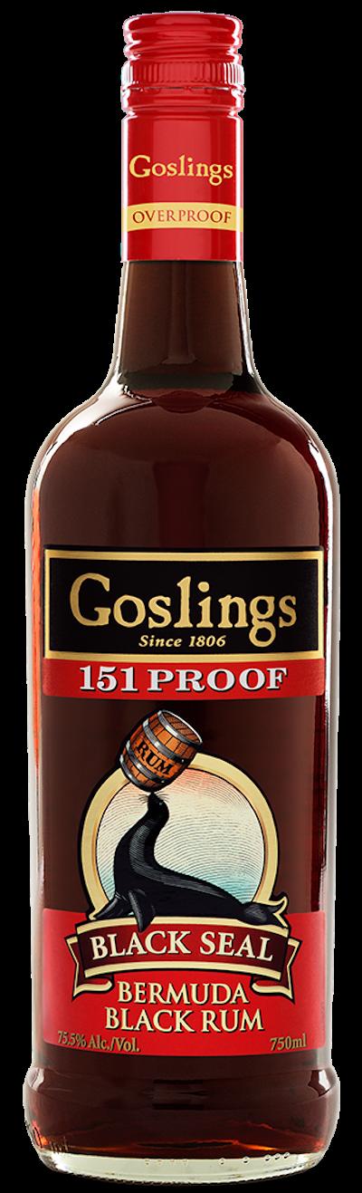 Goslings - Black Seal 151 Overproof Rum