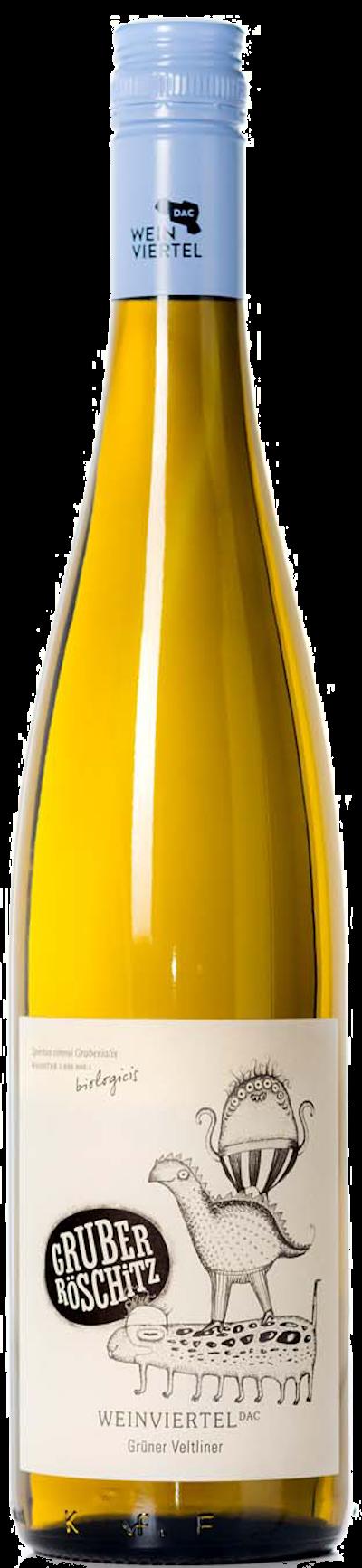 Gruber Röschitz - Grüner Veltliner Röschitz Weinviertel DAC bio