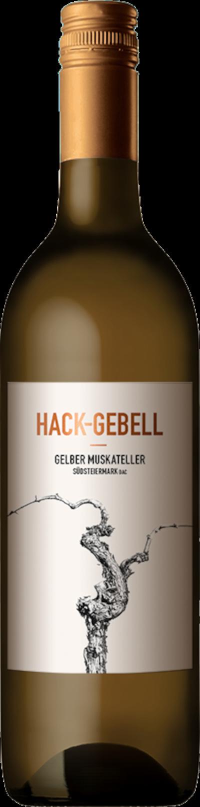 Hack-Gebell - Gelber Muskateller Südsteiermark DAC