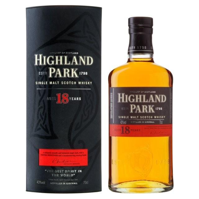 Highland Park - 18 years Orkney Island Single Malt