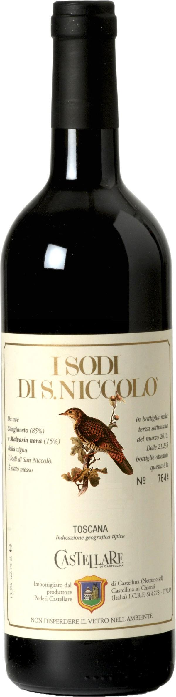 Castellare di Castellina - I Sodi di San Niccolo Magnum, 2008