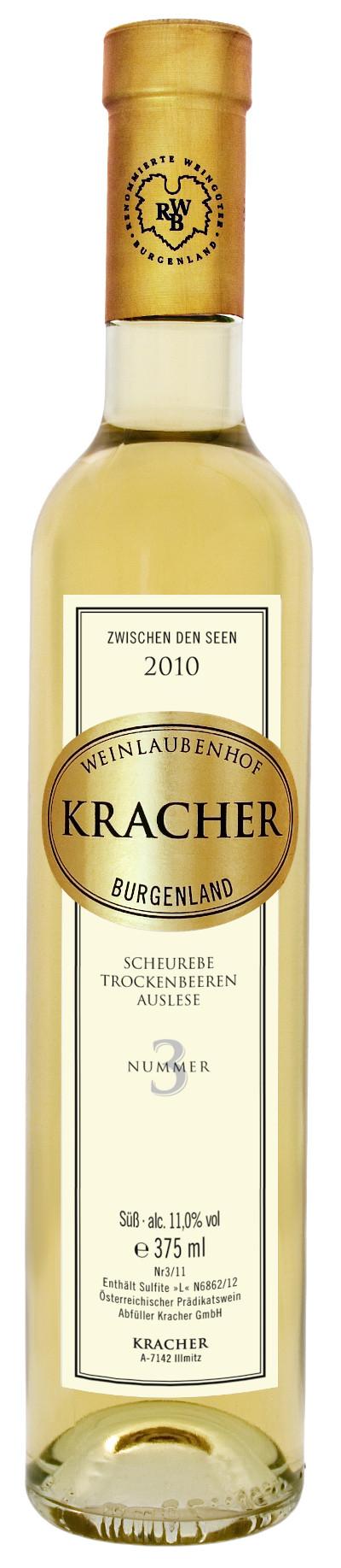 Kracher - Rarität Scheurebe Trockenbeerenauslese Nr. 3 Zwischen den Seen