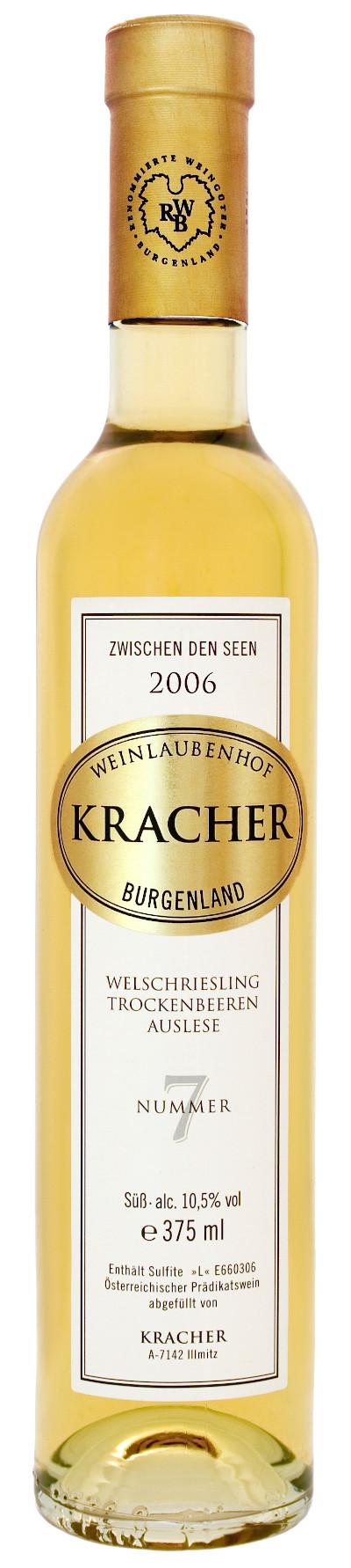 Kracher - Rarität Welschriesling Trockenbeerenauslese Nr. 7 Zwischen den Seen