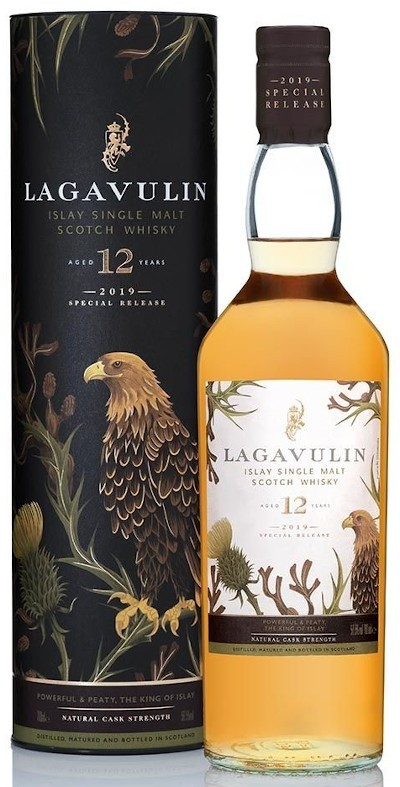 Lagavulin - 12 years Special Release Islay Single Malt Scotch Whisk, 2018
