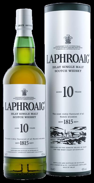 Laphroaig - 10 years Islay Single Malt Scotch Whisky