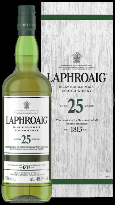 Laphroaig - 25y Cask Strength Edition Islay Single Malt Scotch Whiskey