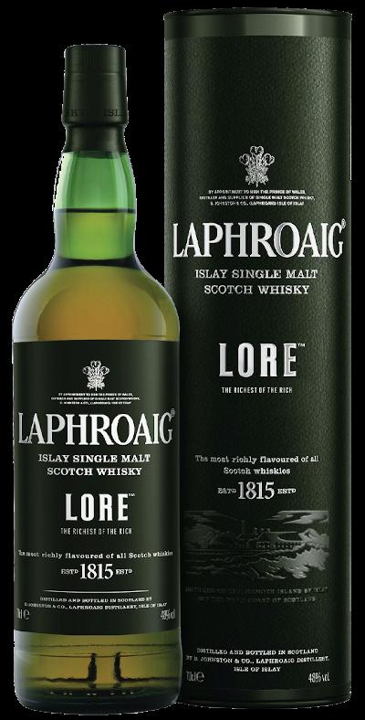 Laphroaig - Rarität Lore Single Malt Scotch Whisky signiert von John Campbell