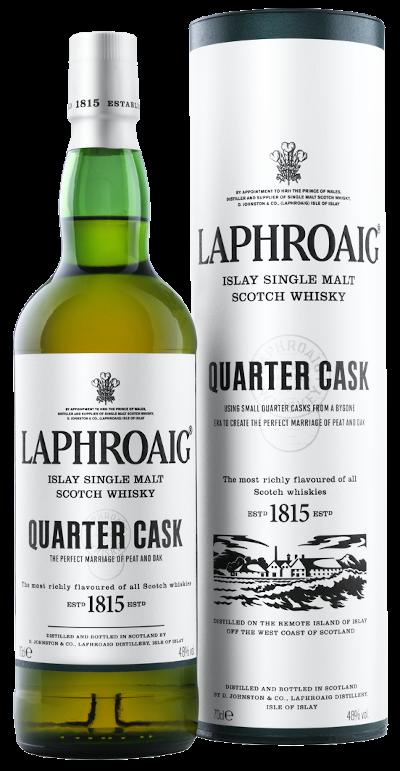 Laphroaig - Quarter Cask Islay Single Malt Scotch Whisky