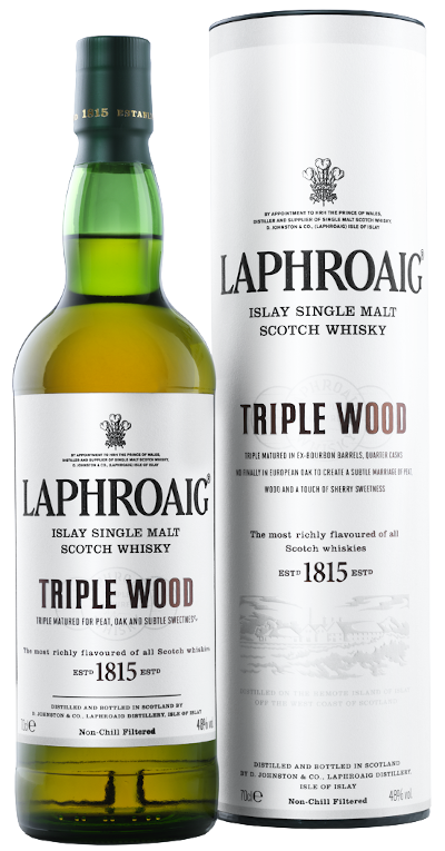 Laphroaig - Triple Wood Islay Single Malt Scotch Whisky