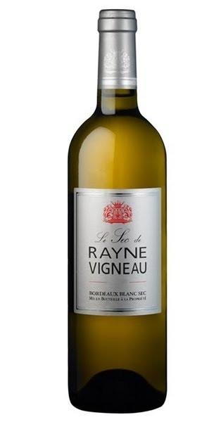 Chateau de Rayne Vigneau - Le Sec de Rayne Vigneau, 2010