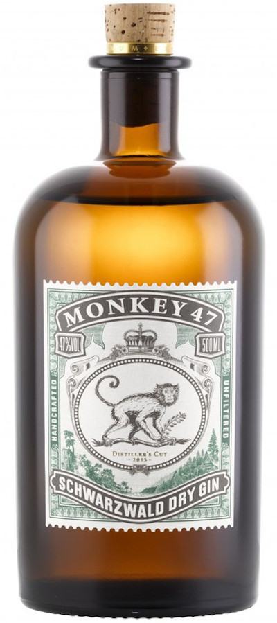 Monkey - 47 Rarität Distillers Cut Schwarzwald Dry Gin
