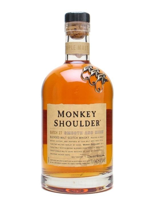Monkey Shoulder - Blended Malt Scotch Whisky