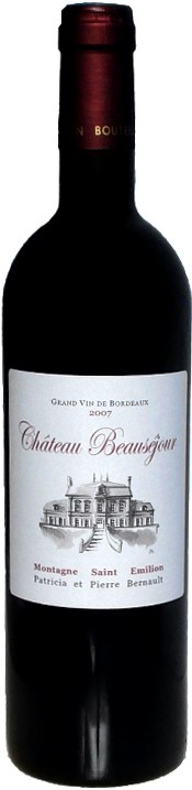 Chateau Beausejour -89p 89w, 2006