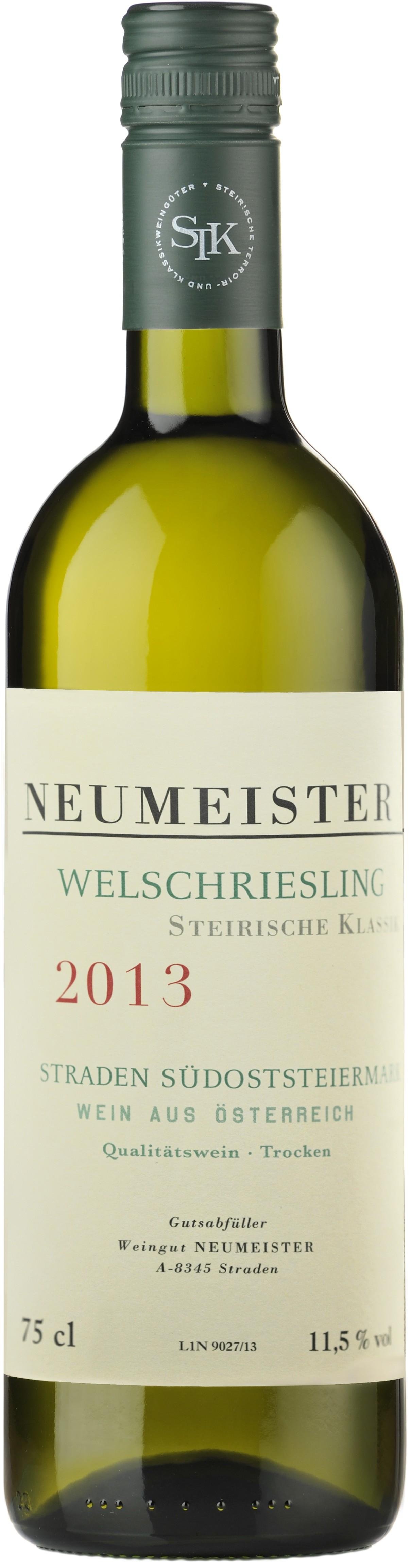 Neumeister - Welschriesling Steirische Klassik, 2015