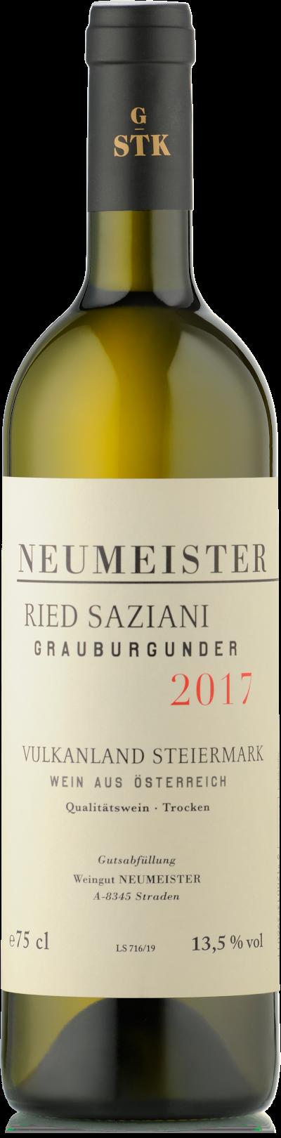 Neumeister - Grauburgunder Ried Saziani bio