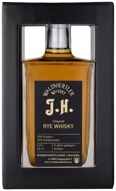 Waldviertler Whisky J. Haider - Original Rye