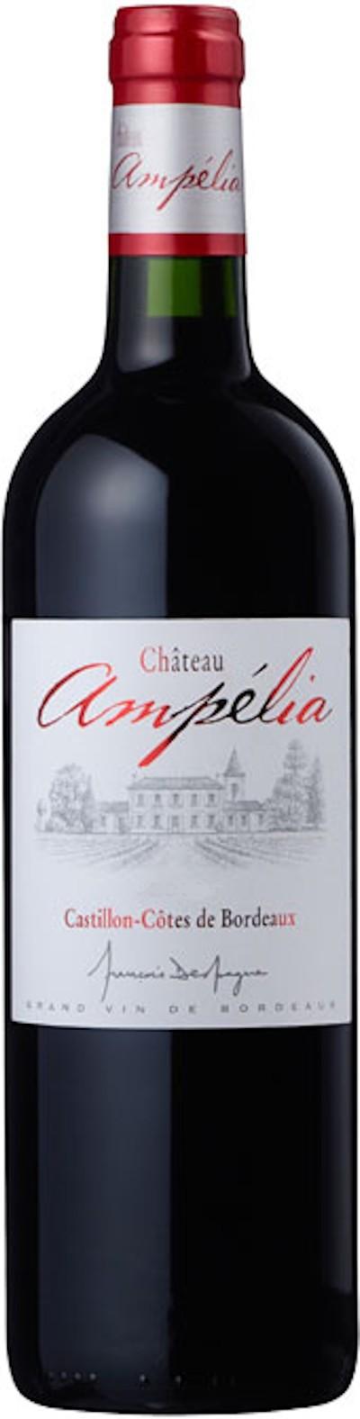 Chateau Ampelia - Cotes de Castillon Magnum, 2004