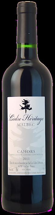 Pascal Verhaeghe - Cuvee Cedre Heritage Cahors Prestige, 2008