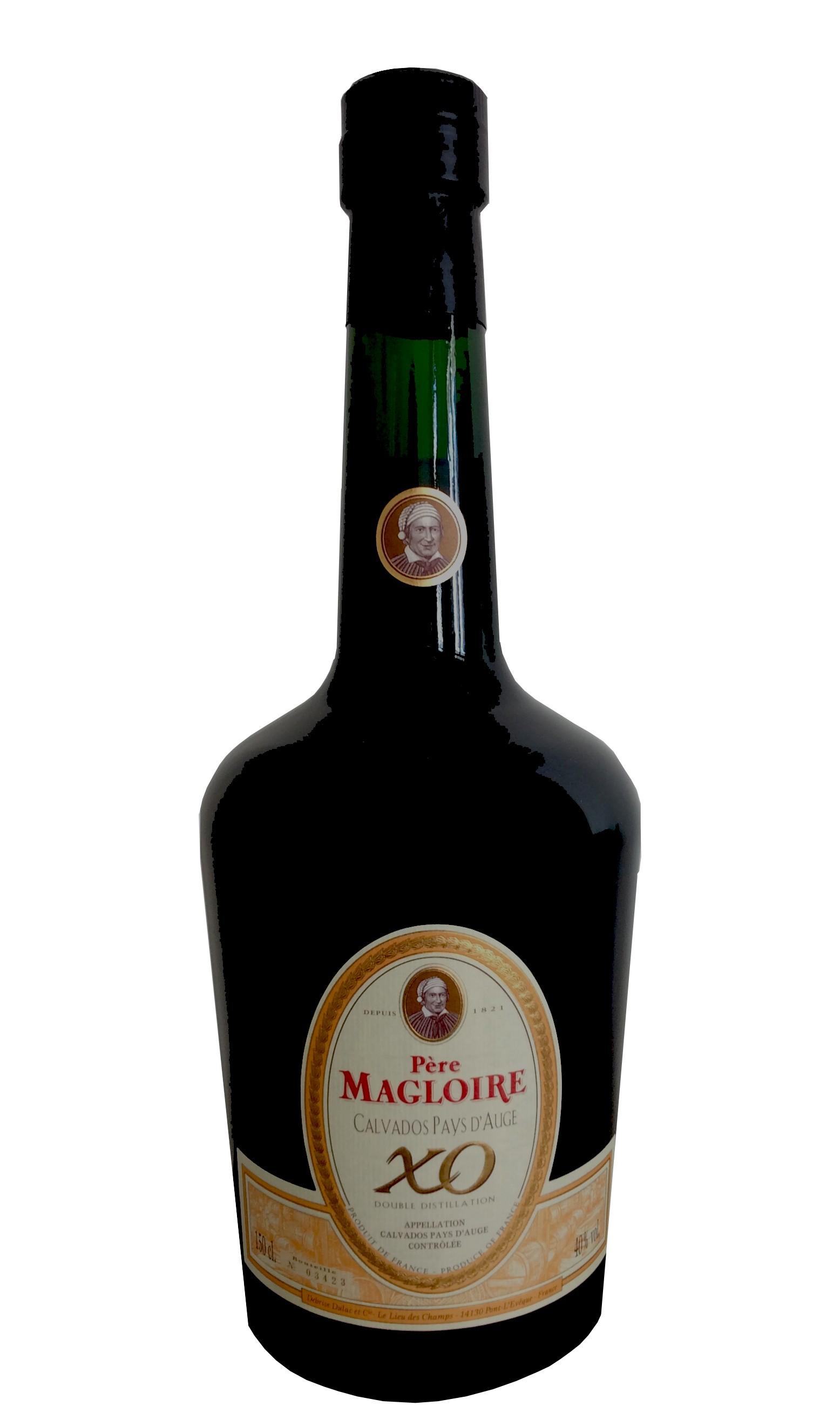 Père Magloire Calvados du Pays d'Auge XO.40°magnum -
